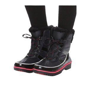 Sorel Tivoli II Waterproof Winter Boots in Black